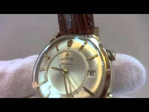 Vintage Jaeger LeCoultre Memovox wrist alarm watch