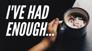 Never again... how quitting caffeine changed my LIFE