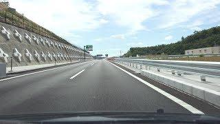 4KE1A新名神高速道路下り・等速高槻JCT→神戸JCT→三木JCT2018年3月開通区間