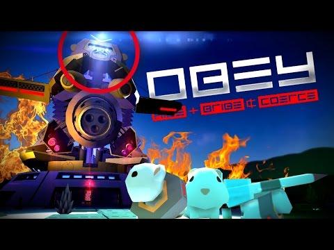 MACACO ROBÔ ESPACIAL VS  HAMSTERS  😱 | OBEY feat. Capuccino, Bit e Foxy