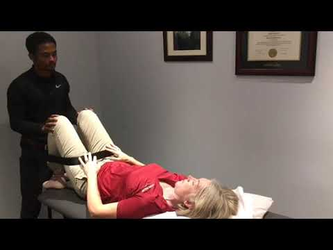 Traction technique for pain relief
