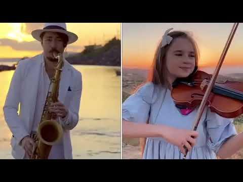 Aleluia - Violino e Sax Cover Karolina Protsenko & Daniele Vitale