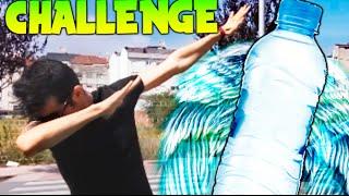 El RETO DE LA BOTELLA !! WATER BOTTLE FLIP CHALLENGE Makiman