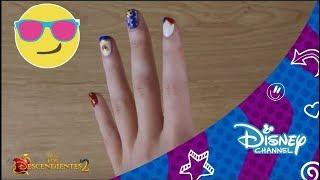 Los Descendientes 2 : Nail Art - Evie | Disney Channel Oficial