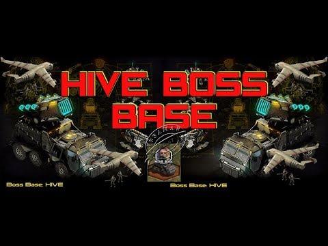 War Commander : Hive Boss Base 105 Epic & Easy Way Using ( Siege )