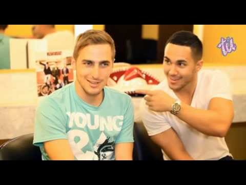 Kendall Schmidt and Carlos Pena - Mexico Interview - Big Time Rush