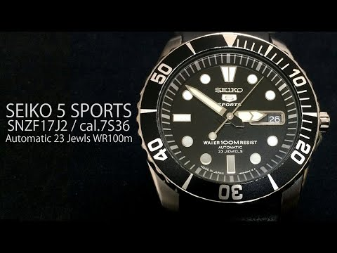 SEIKO 5 SPORTS 7S36-03C0  SNZF17J2  Automatic