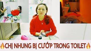 THỬ THÁCH 24H SỐNG TRONG TOILET SẼ RA SAO? Nhung Phan Channel.
