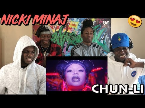 Nicki Minaj - Chun-Li - [MUSIC VIDEO REACTION]