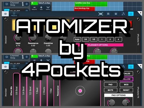 ATOMIZER by 4Pockets - Real Time AUv3 Audio Splicer — Audiobus Forum