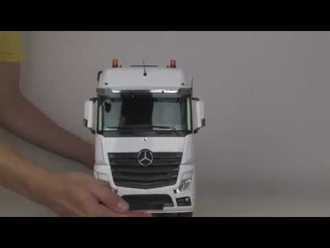 Review of RC Truck ACTROS 6×6 HOOK LIFTER – ScaleART