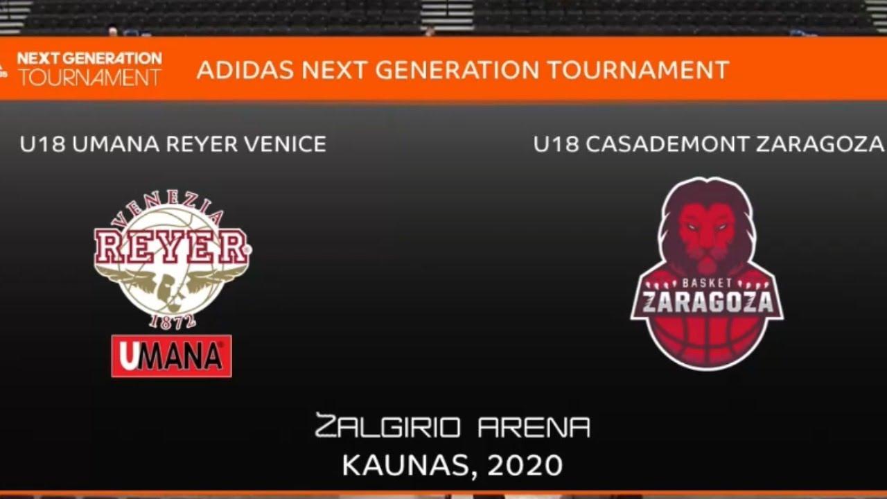 U18 - REYER VENEZIA vs BASKET ZARAGOZA.- Euroleague. Adidas Next Generation Tournament (Kaunas 2020)
