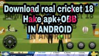real cricket 18 hack apk download link - Kênh video giải trí