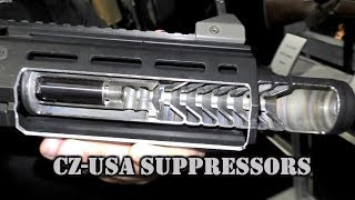CZ-USA Suppressors at SHOT Show 2018