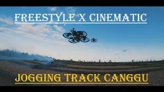 CINEMATIC FREESTYLE FPV DRONE JOGGING TRACK CANGGU BALI - DiaRy FPV