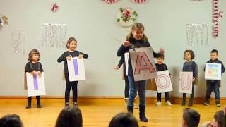 Festival de Navidad Castrillo 2017 2018 7 Villancico Las Vocales van a Belén