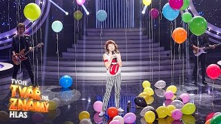 """Martha Issová jako Nena """"99 Luftballons""""   Tvoje tvář má známý hlas"""