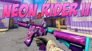 CS:GO - M4A4 | Neon Rider II Gameplay (Workshop)