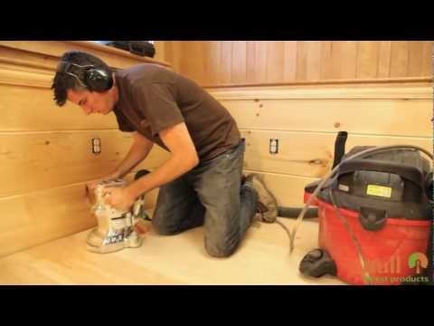 Installing, Sanding, and Finishing a Wide Plank Floor
