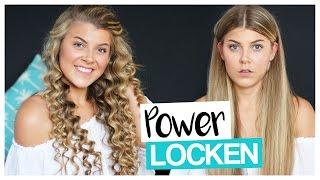 POWER LOCKEN mit BILLIG LOCKENSTAB | COCO