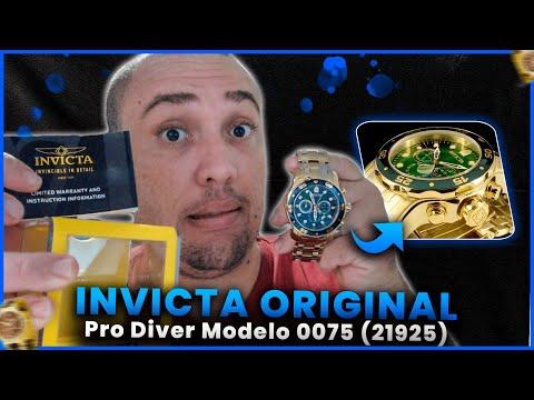 Relgio Invicta Pro Diver Modelo 0075 (21925) Original Vale a Pena Comprar? Review Invicta 0075