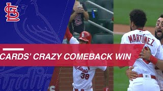 Cardinals stun Rockies with comeback in the 9th