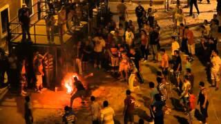 preview picture of video 'Museros Toro Embolado fallece tras choque 8-09-2012'