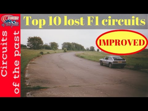 Top 10 Lost F1 Circuits - Abandoned Formula One Tracks - Improved Edition