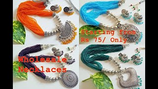 Handmade Wholesale Necklaces At Unbelievable Prices