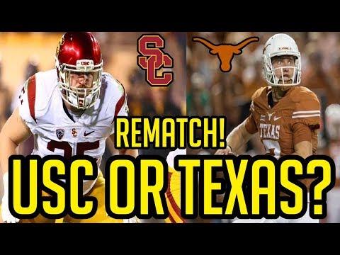 Texas Longhorns vs USC Trojans | 2018 Prediction