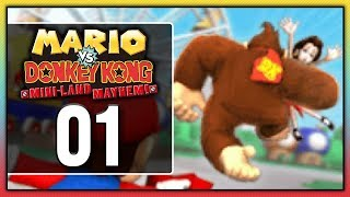 Mario Vs. Donkey Kong: Mini-Land Mayhem! - Episode 1