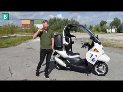 BMW C1 review; Weird or Wonderful? Ahead of it's time? DeMuro style review!