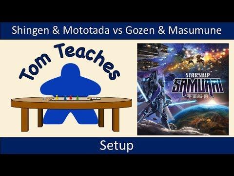 Tom Teaches Starship Samurai (Setup)
