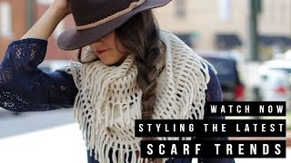 Dress Up: Styling the Latest Scarf Trends