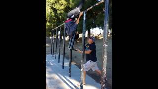 Pole Vault Swing Up Workout - Pole Vault Rockback