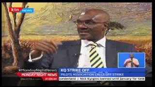 Monday Night News: KQ strike called off after government start negotiations, 17/10/2016