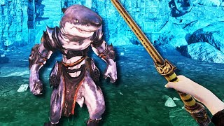 I Became A God And Created A Shark Man in Asgard's Wrath VR - Oculus Rift S