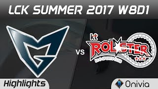 SSG vs KT Highlights Game 1 LCK SUMMER 2017 Samsung vs KT Rolster by Onivia