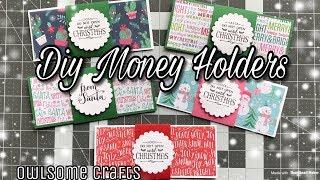 Christmas Money Holder Tutorial