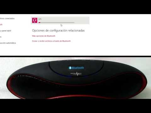 Conectar Parlantes Bluetooth al computador