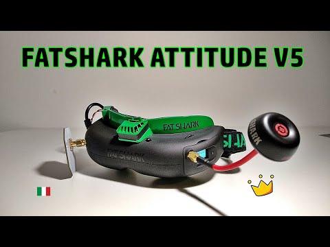 Fatshark Attitude V5 - Review ⭐ 🇮🇹