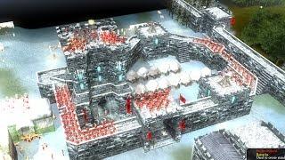 Stronghold Legends Multiplayer - Dixon vs SergiuHellDragoonHQ   Deathmatch [1080p/HD]