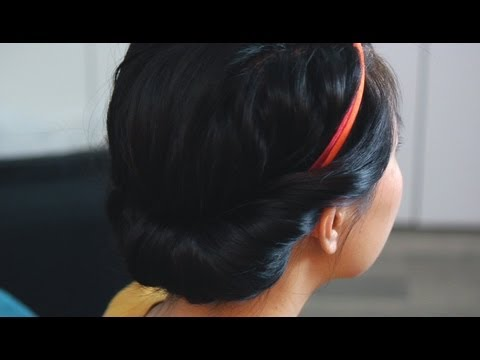 How To: Princess Roll Hairstyle