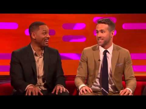 The Graham Norton Jan 29 2016 Will Smith, Ryan Reynolds, Catherine Zeta-Jones,...