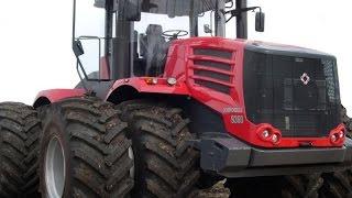 Cамые большие трактора в мире. Кировец серии К-9000.