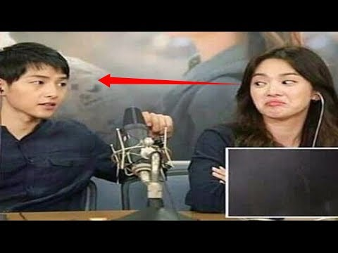Song Joong Ki and Song Hye Kyo Descendants Of The Sun Commentary ( ENGSUB) Sweet Moments