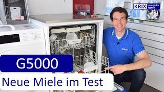 Test: Miele Geschirrspüler G5000