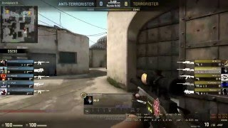 CSGO SICK 1v5 clutch with awp on D2 like kennyS