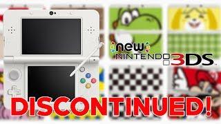 New Nintendo 3DS DISCONTINUED Nintendo Confirms