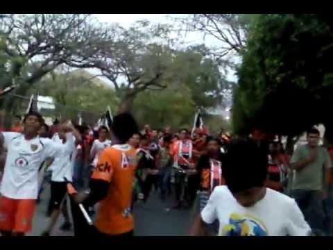 """""""Barra La Fusion Karavana - Jaguares vs Xolos"""" Barra: La Fusión • Club: Jaguares"""